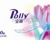 Paper packaging design polly psd