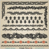 Link toPapercut style of classical pattern vector 5