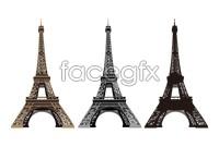 Link toParis eiffel tower vector graphics
