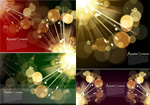 Link toParticles of light background vector