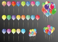 Link toParty balloons vector free