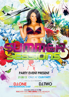 Link toParty flyer psd summer sessions