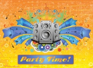 Link toParty footage vector free