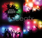 Link toParty people silhouette vector