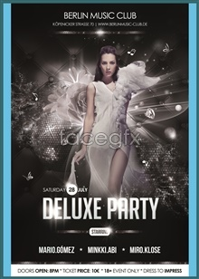 Link toParty poster design source files psd