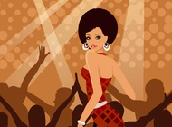 Link toParty woman vector free