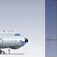 Link toPassenger aircraft vector material