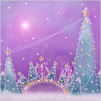 Link toPastels handpainted christmas illustrator psd layered 5