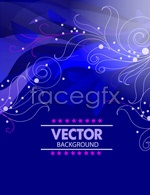Link toPattern blue background vector
