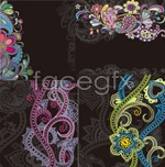 Link toPattern drawing background shading vector