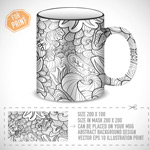 Link toPattern glass cover vector