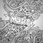 Link toPattern music illustrations vector