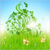 Link toPattern of green grass 04 vector