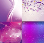 Link toPattern with purple background vector