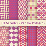 Link toPatterned fabric backgrounds vector