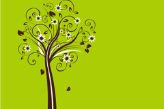 Link toPatterns colorful tree vector