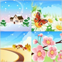Link toPeach blossom snow man rose butterfly