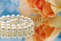 Link toPearl necklace roses hd picture