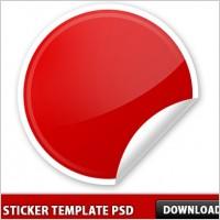 Link toPeel sticker template psd
