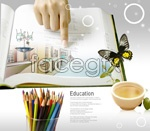 Link toPencil book psd