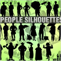 Link toPeople silhouettes