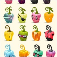 Link toPeppers icons set icons pack