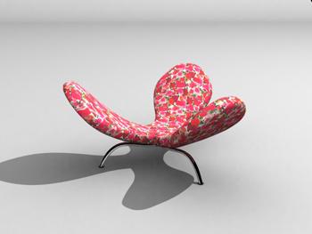 Link toPersonality petal shape sofa 3d model