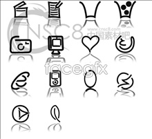 Link toPersonality reflection line icons