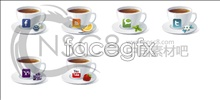 Link toPersonalized coffee cup icons