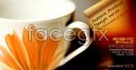Link toPetals cups psd