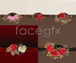 Link toPhnom penh decorative vintage backgrounds vector