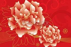 Link tovector background flower peony penh Phnom