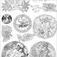 Link toPhoenix pattern vector artwork 5