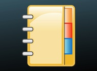 Link toPhone book icon vector free