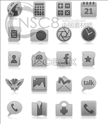 material icon menu Phone