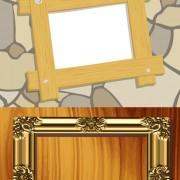 Link toPhoto frames background vector