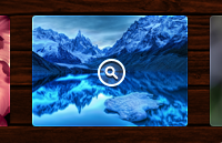 Link toPhoto grid on wood background psd