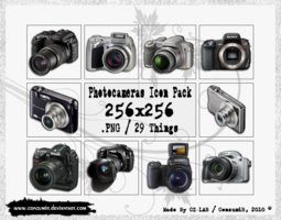 Link toPhotocameras icons pack