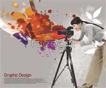 Link toPhotography beautiful butterfly design element psd