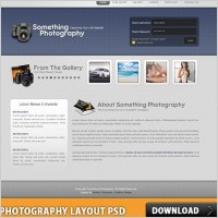 Link toPhotography layout free psd
