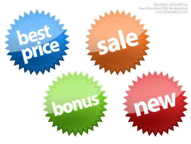 Link toPhotoshop shopping icons psd