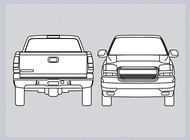 Pickup graphics vector free
