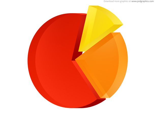 Link toPie chart icon (psd)