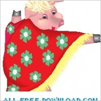 Link toPig wearing cape