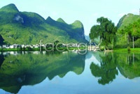 Link toPingzhai dam hd photography landscape pictures