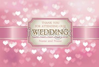 Link toPink background bright heart-shaped vector