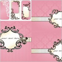 Link toPink background pattern vector