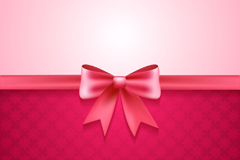 Link toPink bows background vector