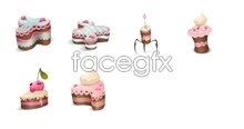 Link toPink cake icons