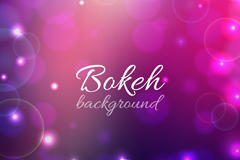 Link toPink fantasy bokeh background vector
